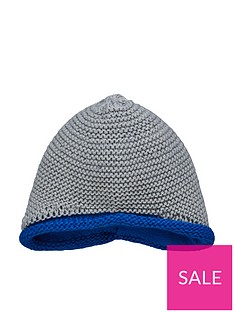 d6f8e01d adidas Baby Boys Knit Beanie Hat - Medium Grey Heather