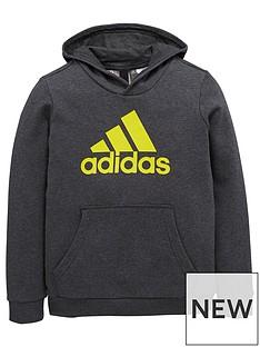 adidas-boys-logo-hoodie