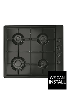 candy-clg64spn-60cm-gas-hob-with-optional-installation-black