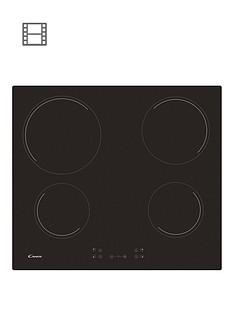 candy-ch64ccbnbsp60cm-ceramic-hob-with-optional-installation-black