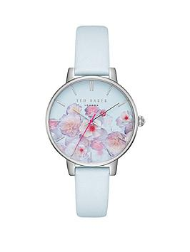 ted-baker-ted-baker-white-and-floral-print-dial-white-strap-ladies-watch