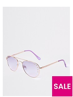river-island-studded-aviator-rose-gold-lilac-lens