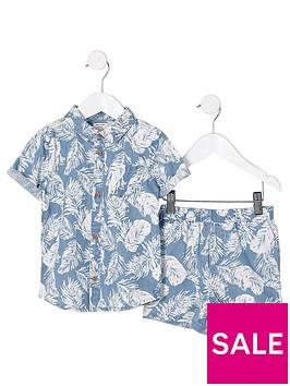 river-island-mini-boys-blue-denim-feather-shirt-outfit