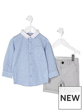 river-island-mini-boys-blue-dobby-shirt-outfit