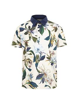 river-island-boys-blue-floral-polo-shirt