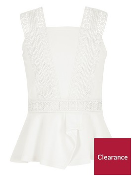 river-island-girls-lace-trim-peplum-top