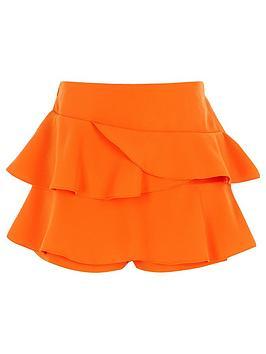 river-island-girls-orange-rara-frill-skort
