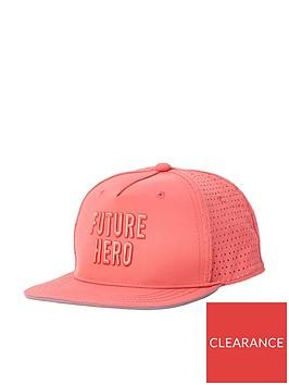 river-island-boys-coral-future-hero-embroidery-flat-cap