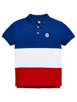 north-sails-boys-short-sleeve-colourblock-polo-top