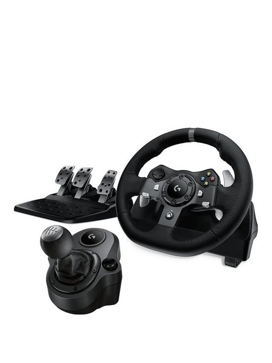 6ac8c612b3e Logitech G920 Driving Force Racing Wheel with Pedals and Force Shifter for  Xbox & PC
