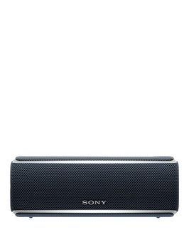 sony-srs-xb21-portable-wireless-waterproof-speaker-with-party-lights-extra-bass-and-12-hour-battery-black