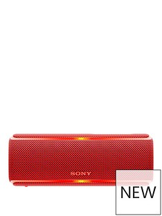 sony-srs-xb21-portable-wireless-waterproof-speaker-with-extra-bass-and-12-hour-battery-life-red