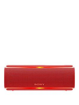 sony-srs-xb21-portable-wireless-waterproof-speaker-with-light-show-extra-bass-and-12-hour-battery-red