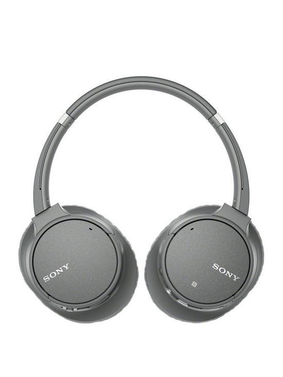 c01c66da24f Sony WH-CH700N Wireless Noise Cancelling Headphones - Grey | very.co.uk