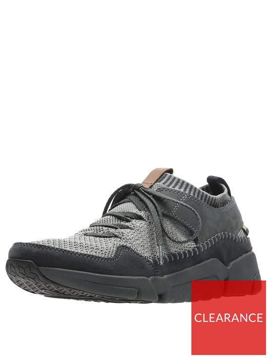19086c690b266 Clarks Tri Active Up GORE-TEX Trainers - Black   very.co.uk