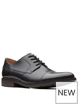 clarks-clarks-becken-wide-fit-plain-leather-lace-up-shoe