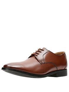clarks-gilman-lace-leather-shoe-dark-tan