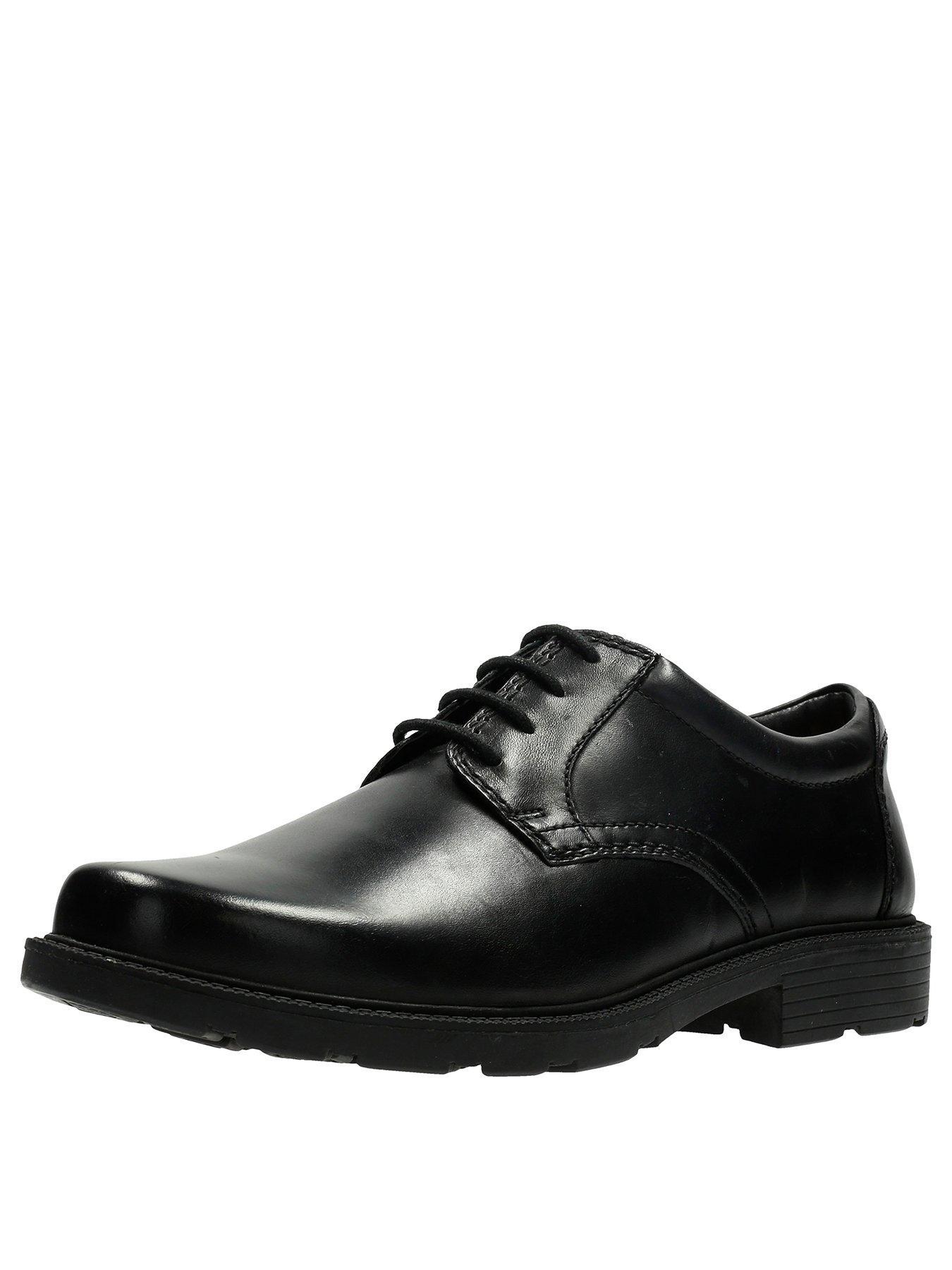mens black formal shoes uk