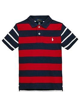 ralph-lauren-boys-short-sleeve-classic-stripe-polo-shirt-red-multi