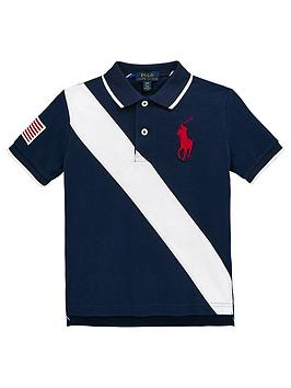 ralph-lauren-boys-short-sleeve-banner-polo-navy