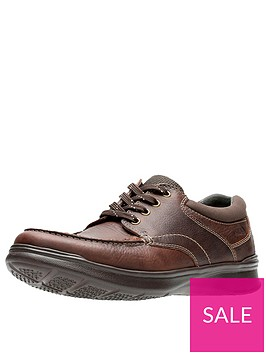 clarks-cotrell-edge-wide-fit-leather-lace-up-shoes-brown