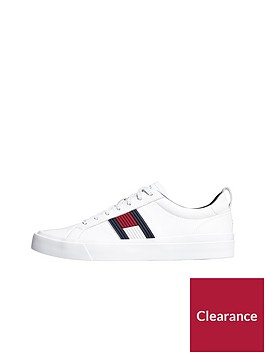 tommy-hilfiger-flag-detail-leather-trainer-white