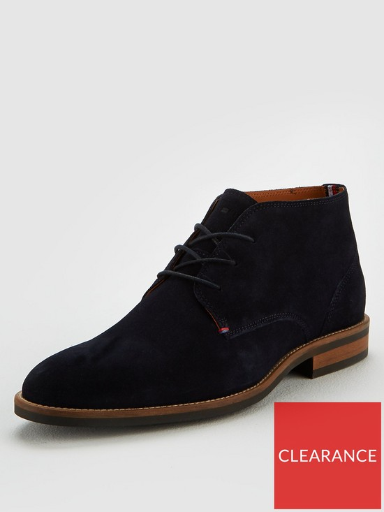 04ddc967a0e2 Tommy Hilfiger Essential Suede Boot