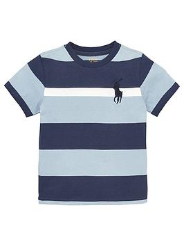 ralph-lauren-boys-short-sleeve-big-pony-stripe-t-shirt-blue-multi