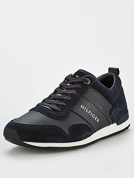 tommy-hilfiger-iconic-leather-suede-mix-runner-midnight
