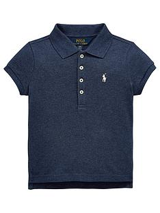 ralph-lauren-girls-short-sleeve-classic-polo-shirt-blue-heather