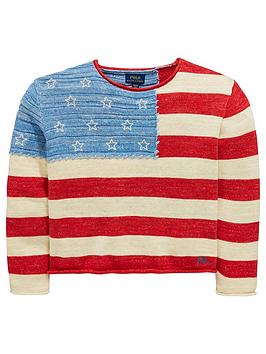 ralph-lauren-girls-american-flag-knitted-jumper