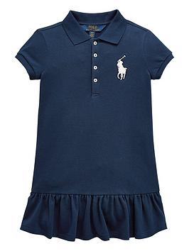 ralph-lauren-girls-short-sleeve-big-pony-polo-dress-navy