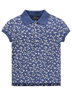 ralph-lauren-girls-short-sleeve-floral-printed-polo-navy