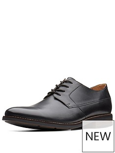 clarks-clarks-becken-standard-fit-plain-leather-lace-up-shoe