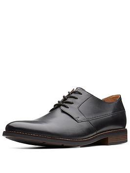 clarks-clarks-becken-standard-fit-plain-leather-lace-up-shoe