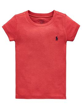 Ralph Lauren Girls Short Sleeve Classic T-Shirt thumbnail