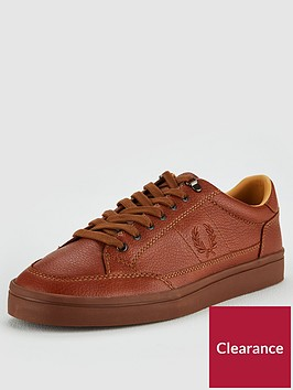 fred-perry-deuce-premium-leather-shoes-tan