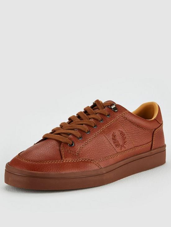 c0fb6c75cf527 Deuce Premium Leather Shoes - Tan
