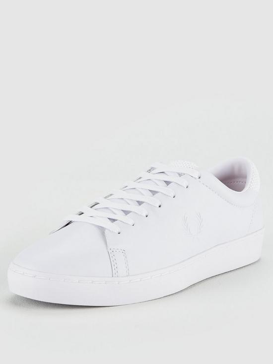 Leather White Premium Spencer Perry Fred Trainers Very uk co wFtZHaq