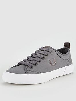fred-perry-horton-fine-canvas-trainer