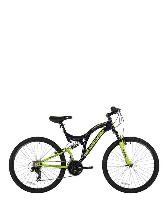 Barracuda Draco Dual Suspension Mountain Bike 18 inch Frame | very.co.uk