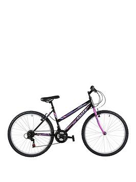 Image of Flite Rapide Ladies Mountain Bike 17 inch Frame, Black/Purple, Women