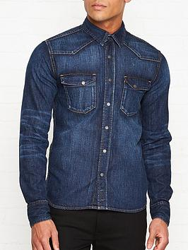 nudie-jeans-jonis-legendary-icon-denim-shirt-navy