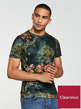 river-island-border-baroque-muscle-fit-tee