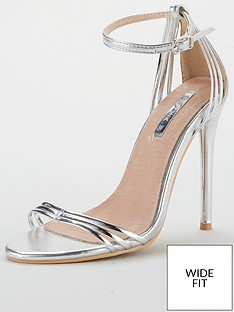 lost-ink-faye-wide-fit-barely-there-sandal-silver