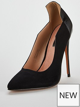lost-ink-wide-fit-amelia-angle-cut-court-shoe-black