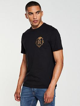 river-island-badge-detail-t-shirt