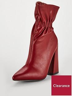 lost-ink-jordan-flared-heel-ankle-boot-red