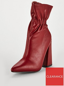 lost-ink-jordan-flared-heel-ankle-boot-red