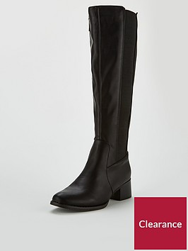 lost-ink-elastic-riding-high-boot-black